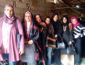 نائب محافظ جنوب سيناء تدعم التسويق الإلكترونى لمنتجات المرأة البدوية