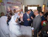 محافظ البحيرة يفتتح الحملة القومية للتطعيم ضد مرض شلل الأطفال بدمنهور