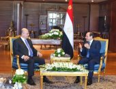 السيسى يستقبل رئيس العراق فى شرم الشيخ