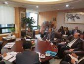 الفريق مهاب مميش يلتقى رئيس بنك التصدير الكورى لبحث التعاون بالمنطقة الاقتصادية