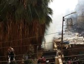 الدفع بـ 3 سيارات إطفاء للسيطرة على حريق بمدرسة ببنها