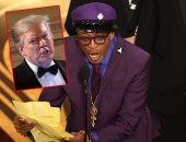"""ترامب يهاجم المخرج سبايك لى بعد خطاب فوز فيلمه BlacKkKlansman بـ""""الأوسكار"""""""