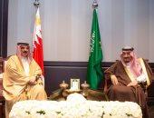 ملك البحرين يهنئ خادم الحرمين الشريفين بذكرى اليوم الوطنى السعودي الـ 89