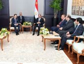 فيديو.. لقاءات الرئيس السيسي على هامش القمة العربية الأوروبية
