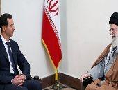 صور ..بشار الأسد يزور طهران ويلتقي خامنئي وروحاني