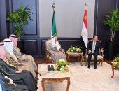 """السيسى يؤكد لـ""""صباح الأحمد"""" اعتزاز مصر الكامل بالروابط الوثيقة مع الكويت"""