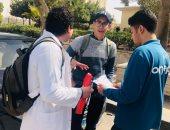 """""""شريان الأزهر"""" حملة للتبرع بالدم لصالح مصابى العمليات الإرهابية"""