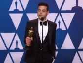 خطاب رامى مالك فى الأوسكار سبب طرح فيلم Bohemian Rhapsody بالصين