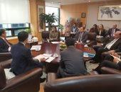 مهاب مميش يلتقى رئيس بنك التصدير الكورى لبحث التعاون بالمنطقة الاقتصادية