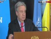 أمين عام الأمم المتحدة يحث إيران على التمسك بالاتفاق النووى
