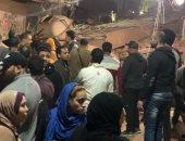 إنهيار جزئى لعقار بحي الجمرك في الإسكندرية دون إصابات