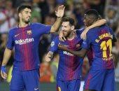 برشلونة يعبر ليون 5/1 ويواصل التقدم نحو لقب دوري أبطال أوروبا.. فيديو