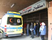 أول فيديو لمصابى حريق محطة مصر أثناء نقلهم لمستشفى الهلال