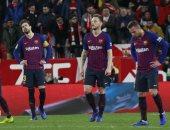 ليون يقلص الفارق ضد برشلونة  ( 2 ــ1 ) في الدقيقة 58