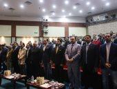 صور.. دقيقة حداد على أرواح حادث محطة مصر وخالد توحيد قبل مؤتمر وزير الرياضة