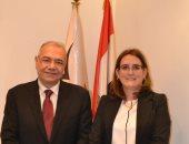 """رئيس """"المصريين الأحرار"""" يستقبل سفيرة كوبا.. والحزب يشارك فى مبادرة التبرع بالدم"""