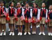 """صور.. أطفال فيتنام يرحبون بقمة """" ترامب - كيم"""" الثانية وسط تشديدات أمنية"""
