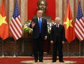 صور.. ترامب يجتمع مع رئيس فيتنام قبل القمة الثانية مع كوريا الشمالية
