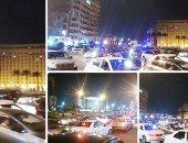 """فيديو .. """"دوت مصر"""" ترصد سيولة مرورية بميدان التحرير"""