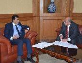 """وزير الرياضة يناقش استعدادات إقامة """"سباق مصر الدولى"""""""