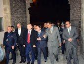 رئيس دولة ألبانيا يزور قلعة صلاح الدين الأيوبى.. صور