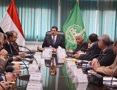 محافظ القليوبية يعقد اجتماعا لتطوير الطرق فى منطقة مسطرد بـ90 مليون جنيه