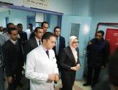 وزيرة الصحة: 21 جثمانا مجهول الهوية من ضحايا حادث قطار محطة مصر