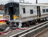 إصابة 20 شخصا فى تحرك قطار باتجاه خاطئ بيوكوهاما اليابانية