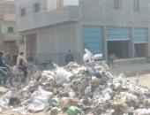قارئ يشكو من انتشار القمامة فى قرية صهرجت الكبرى بميت غمر دقهلية