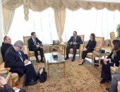 رئيس الوزراء يستقبل وزير بيئة الأعمال والاستثمار والتجارة فى رومانيا