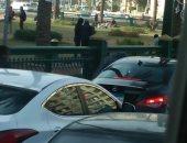 صور.. قارئ يشكو من انتشار المتسولين فى ميدان التحرير