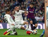 شاهد صورة مرعبة تكشف خطورة إصابة فاران فى كلاسيكو ريال مدريد وبرشلونة