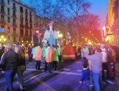 شاهد احتفالات مدينة برشلونة بالكرنفال السنوى.. صور