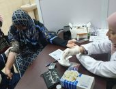 صور.. أورام طنطا يستقبل المواطنين لإجراء تحاليل 100 مليون صحة