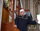 وزير الأوقاف يؤدي خطبة الجمعة غدًا بمسجد الحامدية الشاذلية بالجيزة