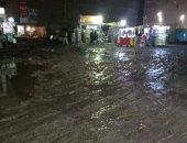 أهالى أم بيومى فى شبرا يعانون من البالوعات المكشوفة وغرق الشوارع