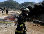صور.. حرق أطنان من المخدرات والكوكايين فى هندوراس