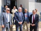 محافظ جنوب سيناء يلتقى مدير صندوق تطوير العشوائيات ويتفقد مناطق الإسكان البديل
