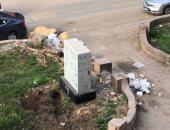 قارئ يشكو انتشار القمامة بأحد شوارع حى العجوزة.. صور