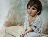 يمنى تستعرض موهبتها.. وتؤكد: لسه فى بداية الطريق وبحلم بجاليرى لرسوماتى