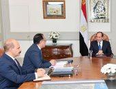 صور.. السيسي يطلع على حالة مصابى حادث محطة مصر وسير التحقيقات