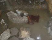 شكوى من المياه الجوفية بشارع المهندس فى منشأة ناصر