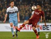 ملخص وأهداف مباراة لاتسيو ضد روما فى الدوري الإيطالي