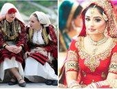 الملون فى نيجيريا والأسود فى موريتانيا.. فساتين الزفاف حول العالم