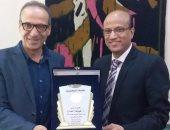 """الحاج على فى """"الصحفيين"""": معرض القاهرة نجح وهيئة الكتاب حققت أكثر من 40 مليون جنيه"""