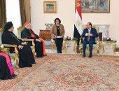 السيسى: مصر والفاتيكان لديهما مجال واسع للتعاون فى ترسيخ الوسطية ونبذ التطرف