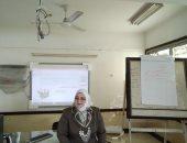 تجهيز قاعتين لاختبار المتقدمين للوظائف المؤقتة بنظام الأون لاين بكفر الشيخ