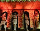 """صور.. الزى الفرعونى يظهر فى كرنفال ساوباولو لإحياء رقصة """"السامبا"""""""