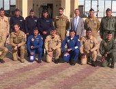 القوات البحرية المصرية والفرنسية تنفذان تدريبا بحريا عابرا