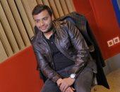 صور.. رامى صبرى يُسجل أغنيات ألبومه الجديد